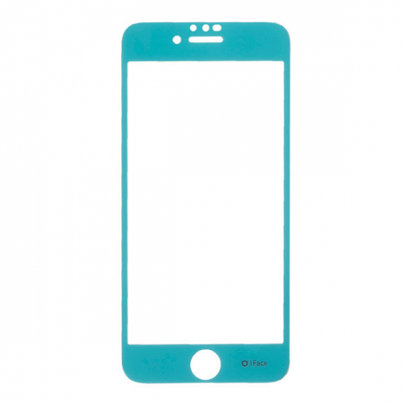 iFace Round Edge Color Glass Screen Protector ラウンドエッジ強化ガラス 液晶保護シート[iPhone 8/7/6s/6・XS/X・XR]